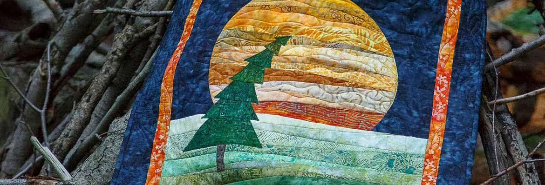 Lonesome Pine Wall Hanging, Carol Mason