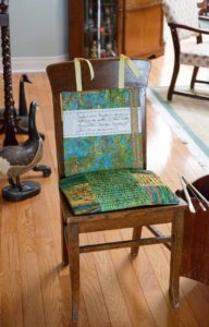 The Artsy Chair Pattern - Fall 2016