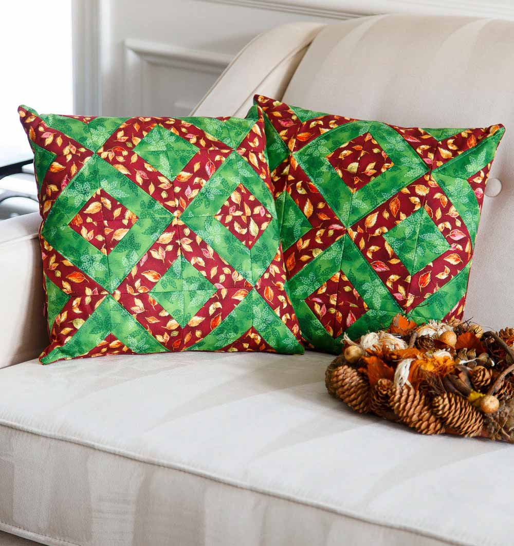 Autumn Comfort Decorative Cushions - Fall 2016