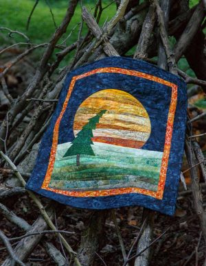 Lonesome Pine Wallhanging Pattern - Fall 2016