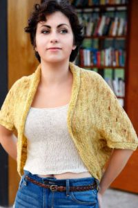 Swiss Cheese Shrug Pattern - Fall 2016