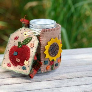 Harvest Time Mason Jar Cosy