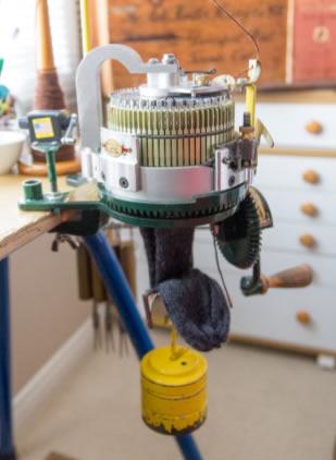 Have you heard of a Circular Sock Knitting Machine?