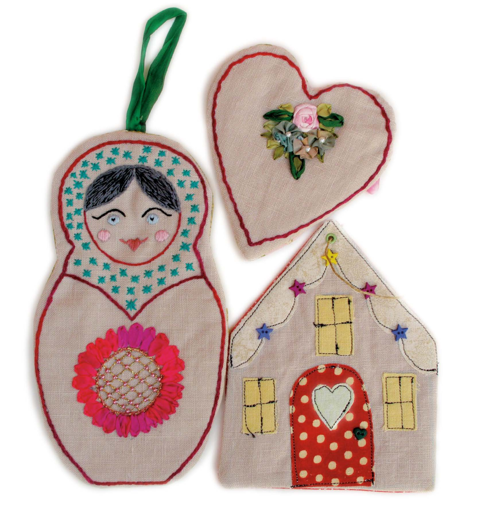 Gift Card Pockets Pattern - Festive 2011