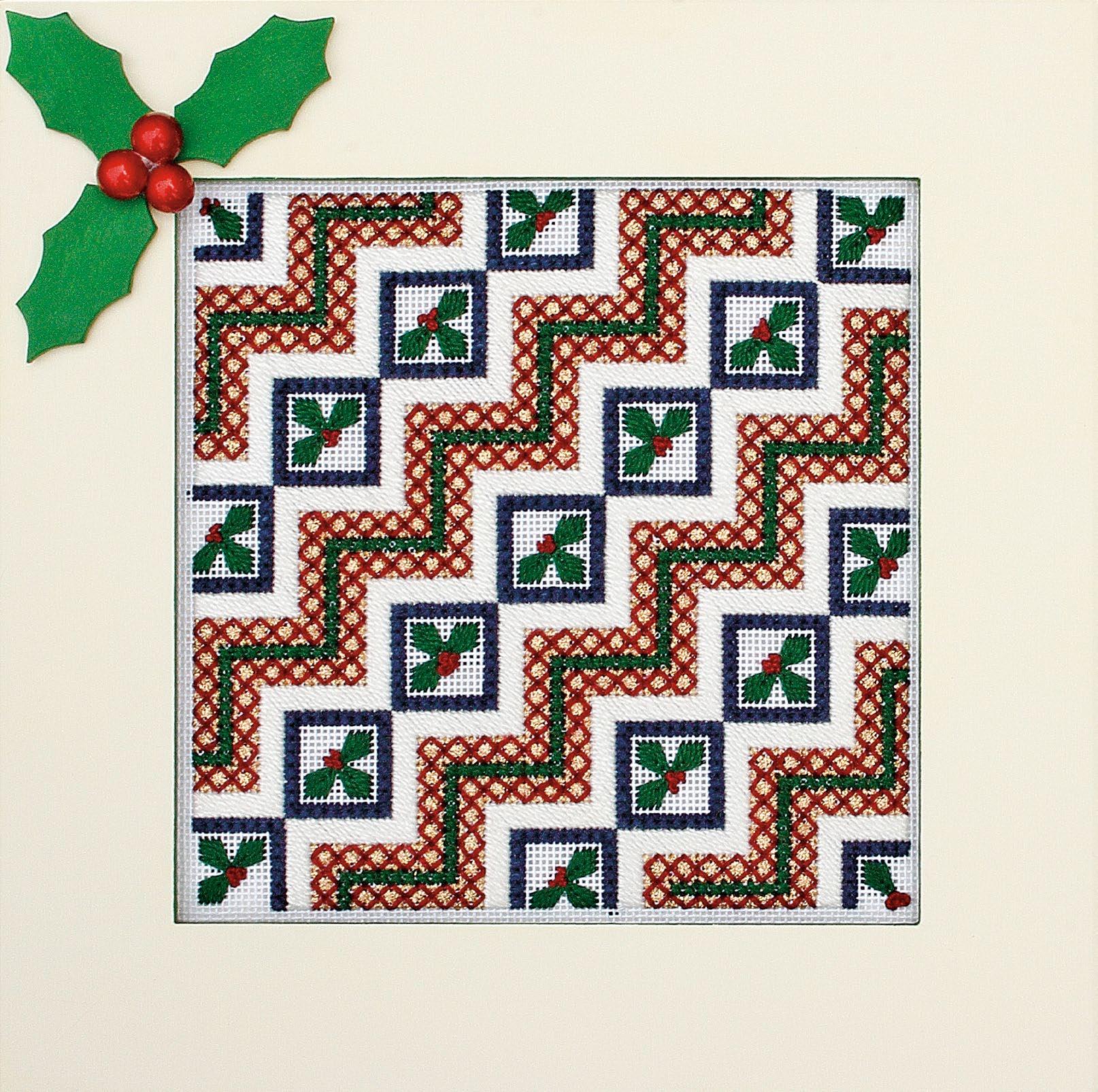 Holly Berry Trivet Pattern - Festive 2011