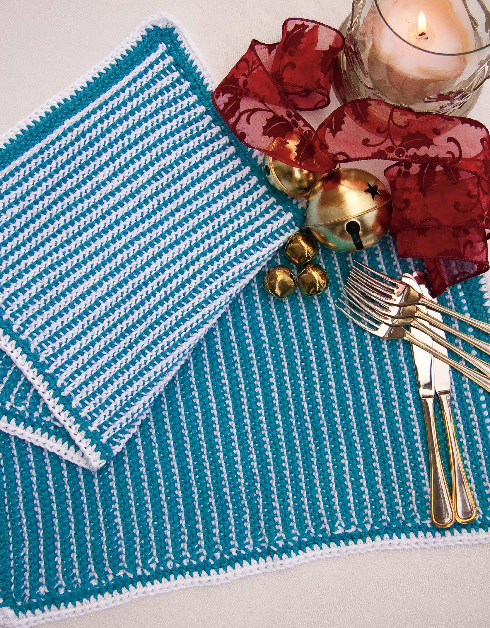 Joyfully Reversible Placemats Pattern - Festive 2011