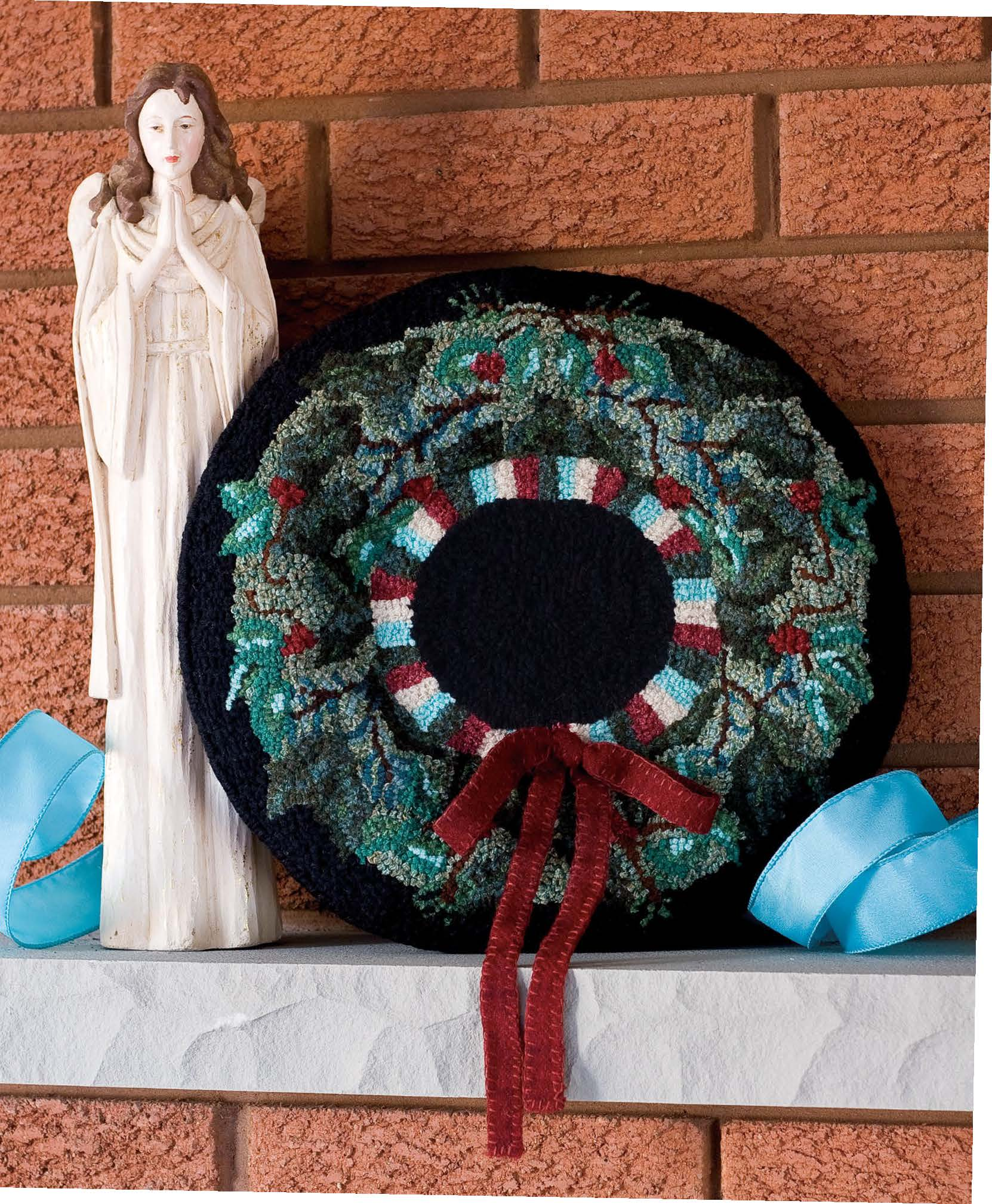 Welcome Home Wreatht Pattern - Festive 2011