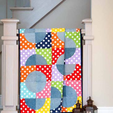 Denim and Dots Quilt