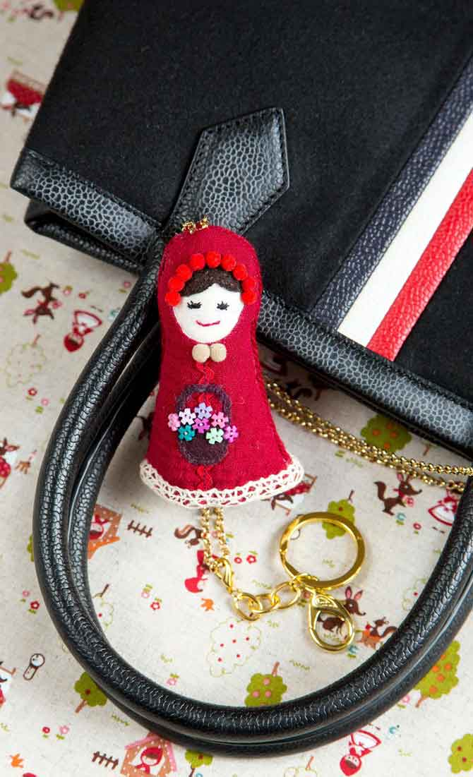 Little Red Riding Hood Key Holder