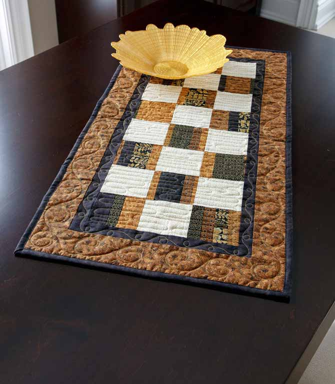 Quick and Easy Table Runner