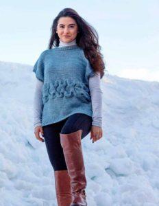 Berner Oberland Cabled Pullover