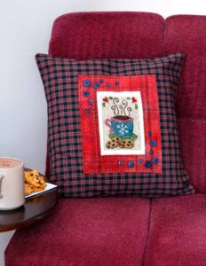 Cookies and Cocoa Cushion Cover