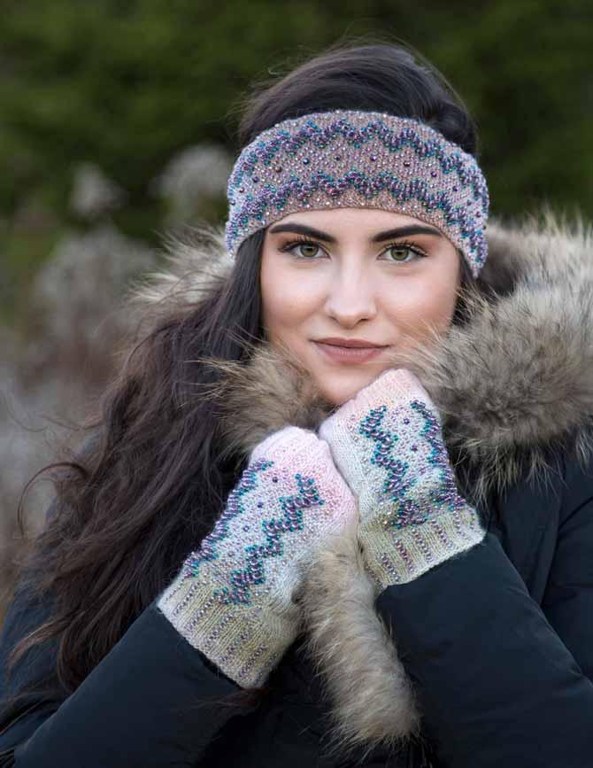 Glitter in the Snow Winter Accessories