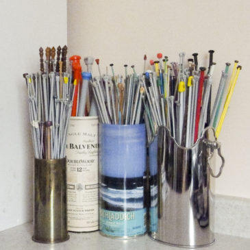 The Tools of a Knitter's Trade