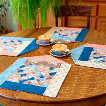 Scrappy House Placemats