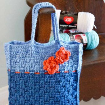 Take-a-Long Blue Tote