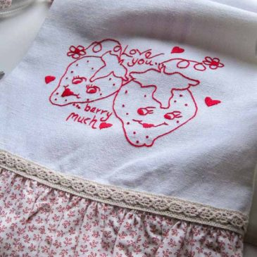 Redwork berries have historical roots