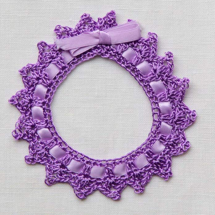 Crocheted Photo Frames