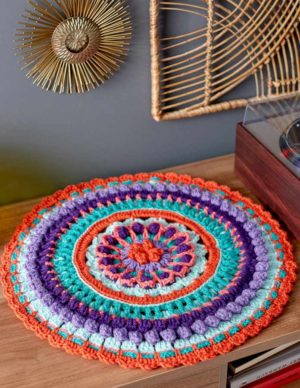 Mandala With Love Table Mat