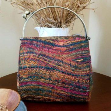 The Stupendous Stitching Clutch Purse