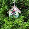 Quilted Star Birdhouse