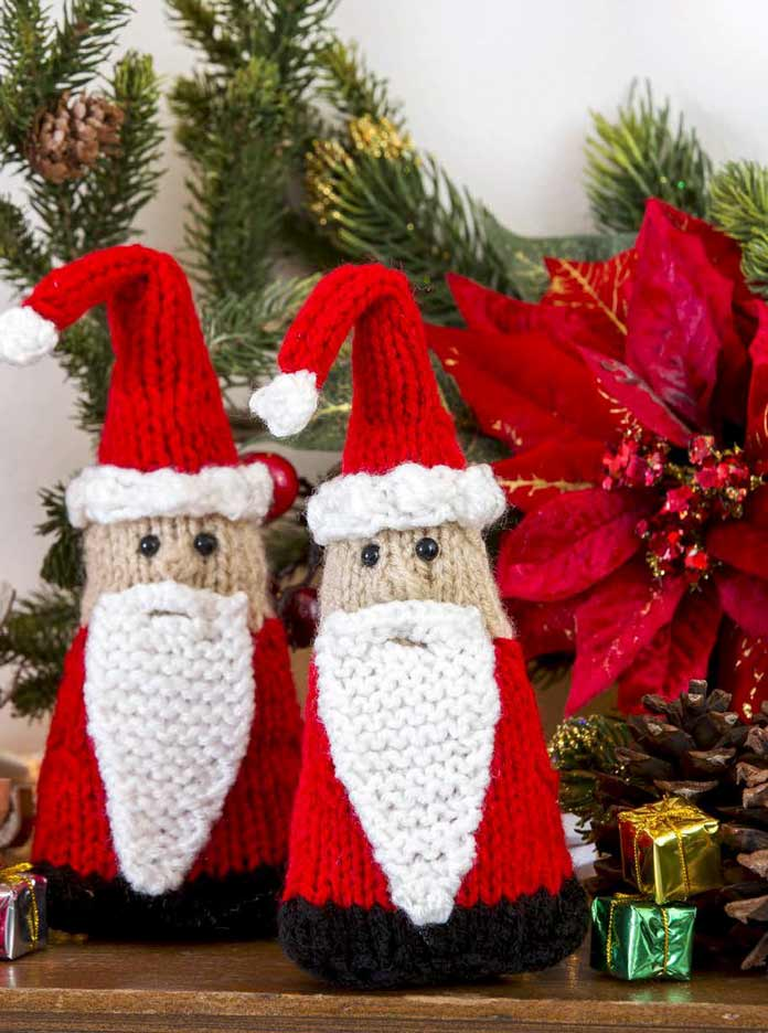 Santa Gnome Ornaments