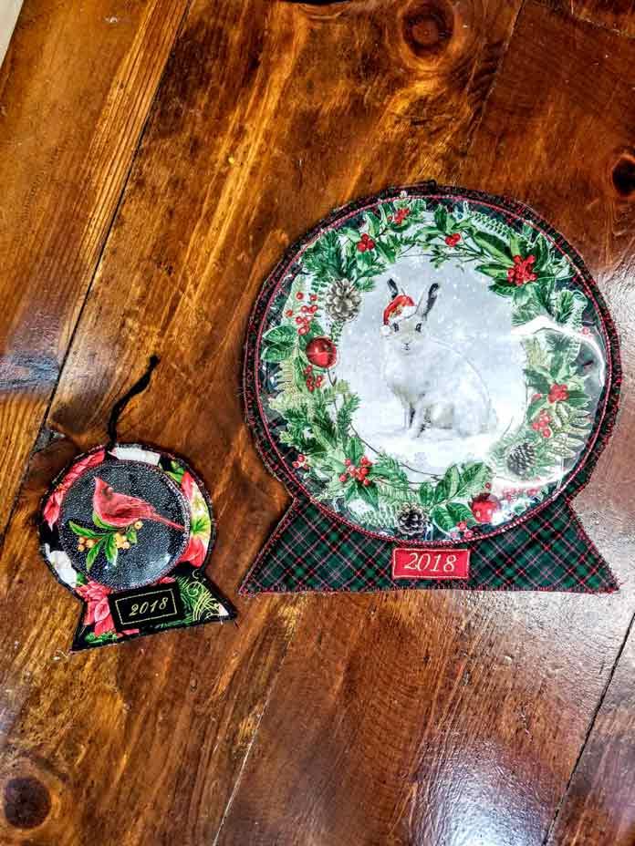 Snow Globe Ornament