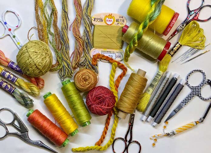 The Slow Stithing Movement and the Running Stitch
