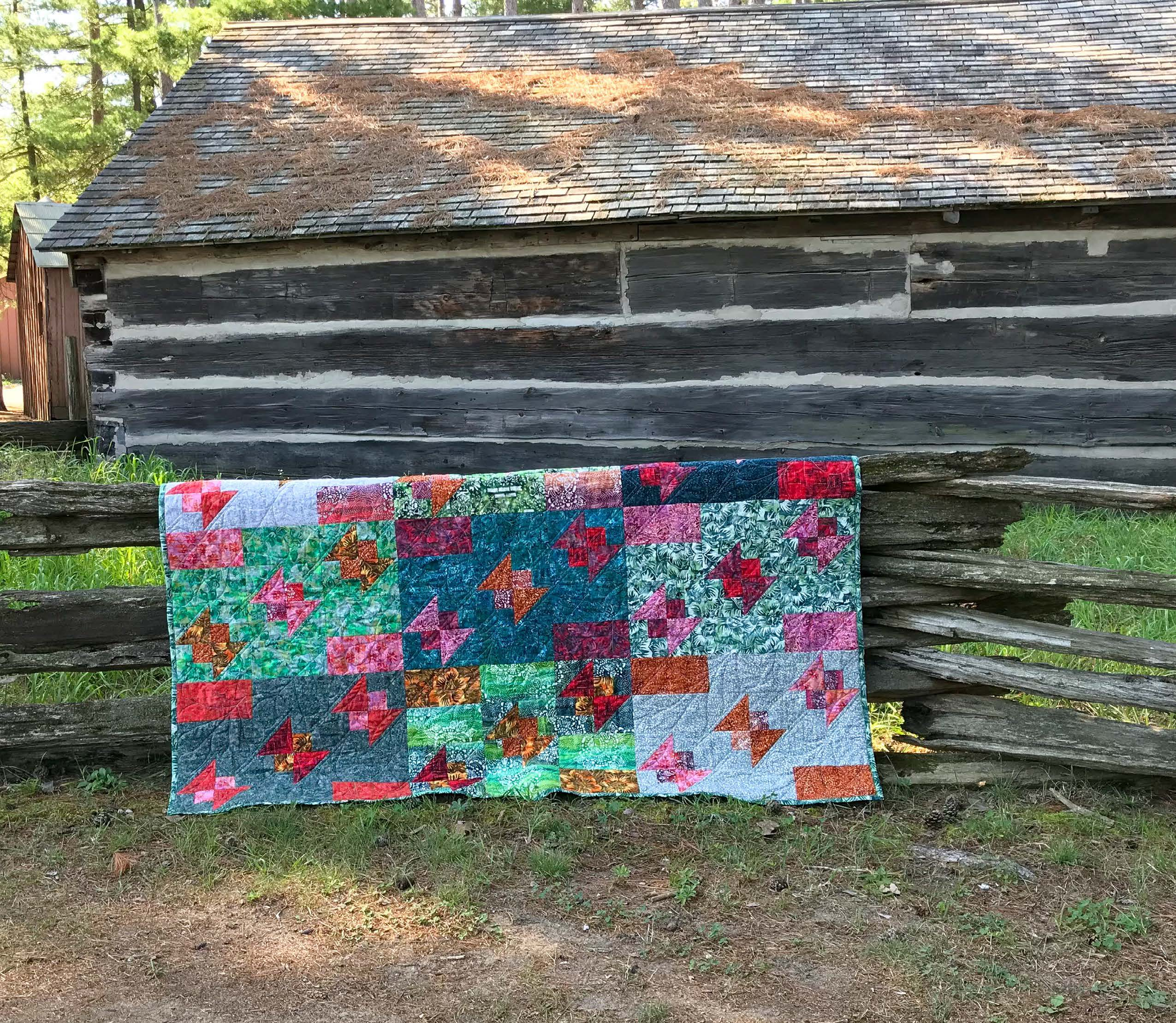 Blissful Butterflies Quilt