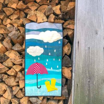 Rainy Days Wallhanging