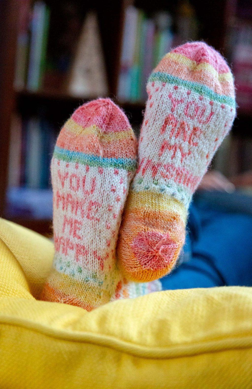 Colourwash Socks