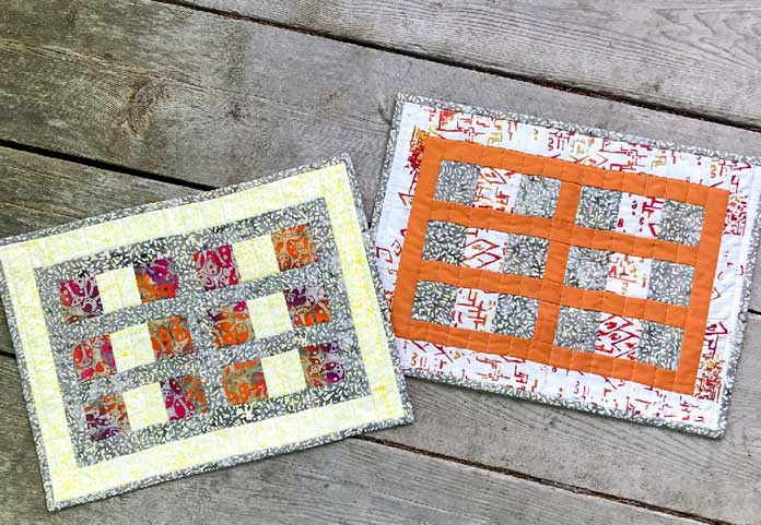 Hopt to It! Table Runner & Placemats