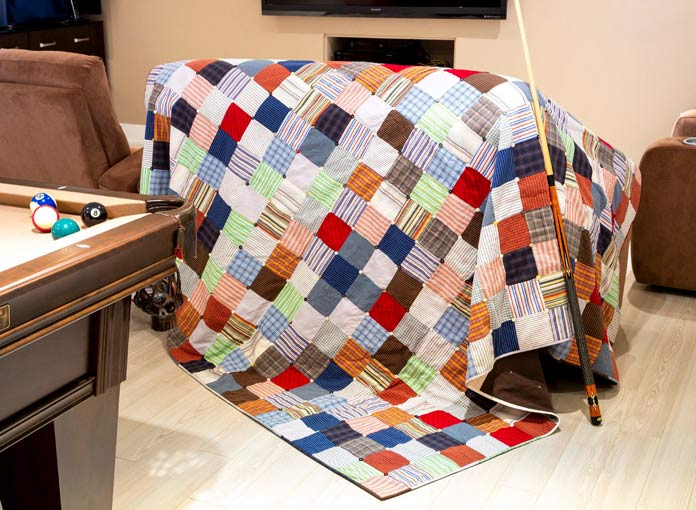 Reduce – Reuse – Recycle Quilt