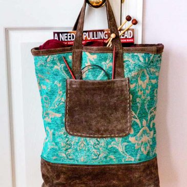The Suede Tote Bag