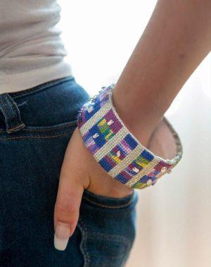 Paper Tube Bracelet Pattern