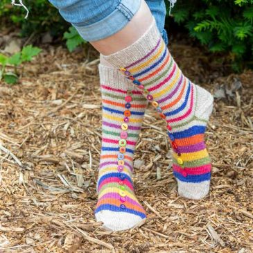 Thoughtful Sole Series – Wool Stew Socks