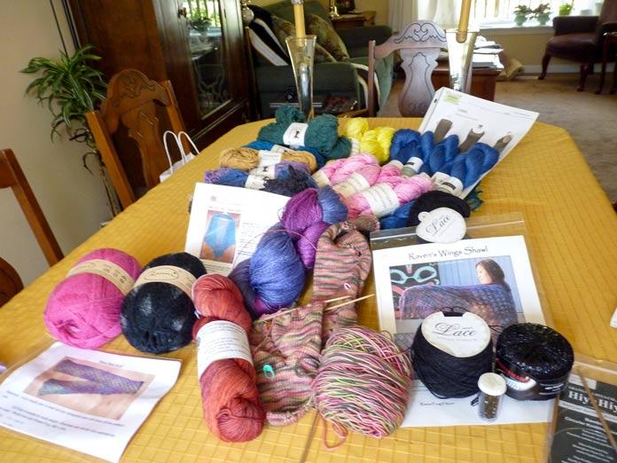 Destination: Knitting!