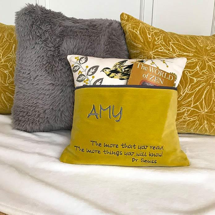 Amy's Reading Cushion