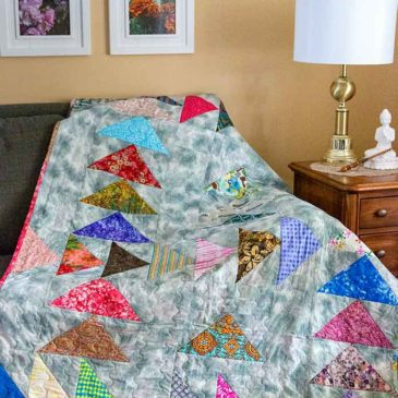 Forty – a Birthday Quilt