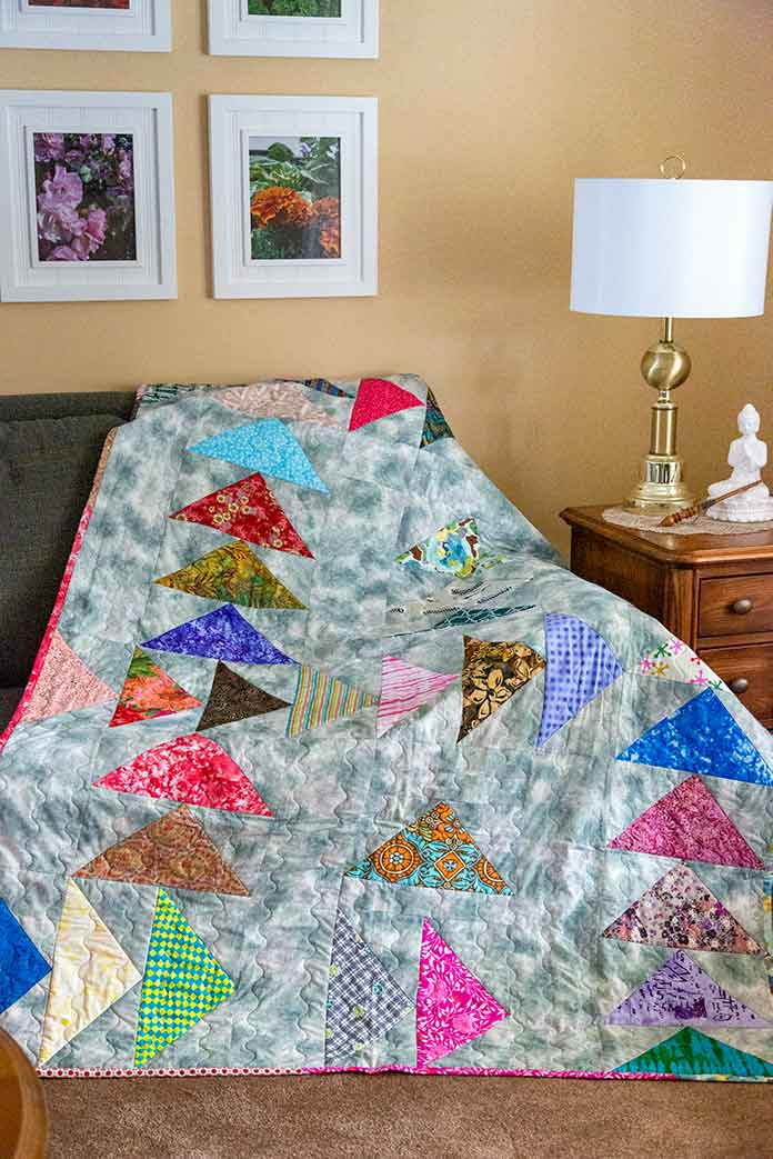 Forty - a Birthday Quilt