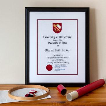Mom Certificate