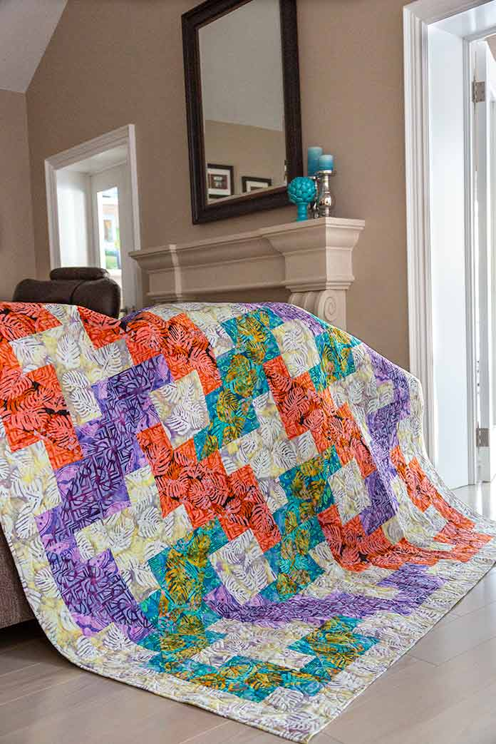 Woven Pathways Quilt