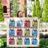 Maritime Houses Quilt Pattern
