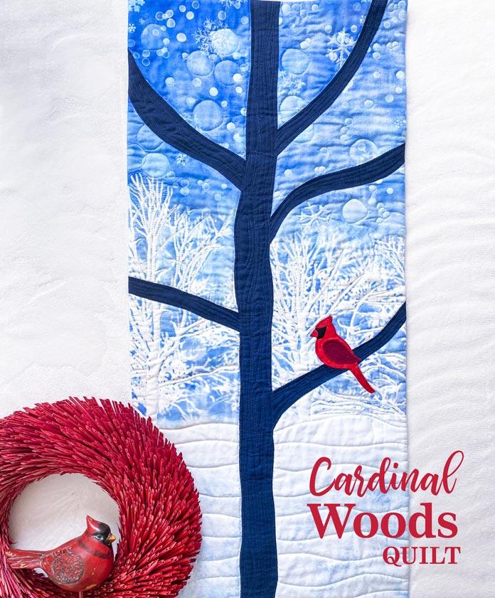 Cardinal Woods Quilt