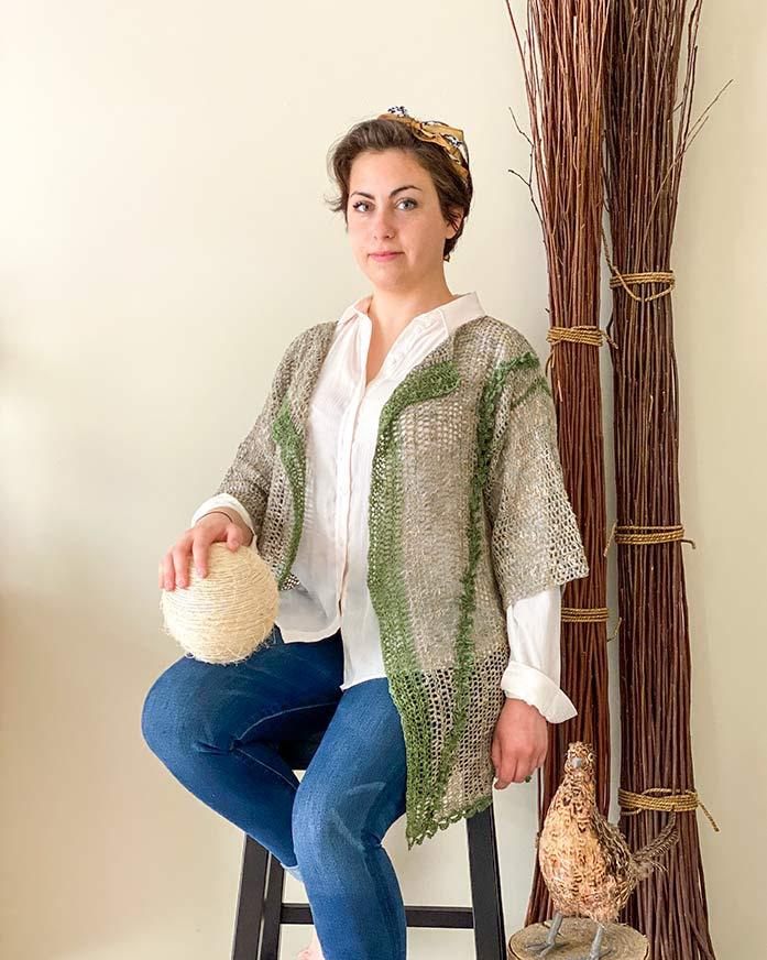 Crochet Bohemian Cardi