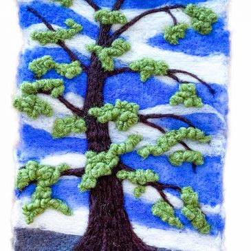 Painting My Forest with Wool