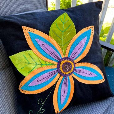 Floral Fancy Cushion Cover
