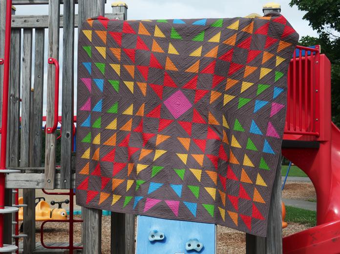 I LOVE colour! quilt